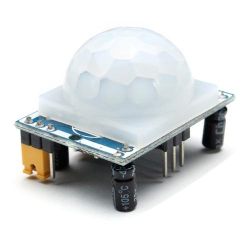 HC-SR501 Human Infrared Sensor Module Including Lens