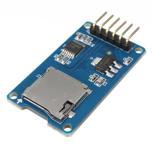 Micro TF Card Memory Shield Module SPI Micro Storage Card Adapter
