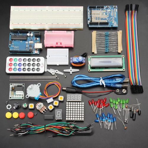 Geekcreit UNOR3 Basic Starter Kits No Battery Version for Arduino Carton Box Packaging