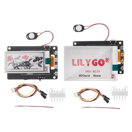 LILYGO TTGO T5S V2.4 Wifi Bluetooth Wireless Module Base ESP32 Red Display EPaper Speaker Electric Development Board 1.54/2.13/2.7/2.9 Inch