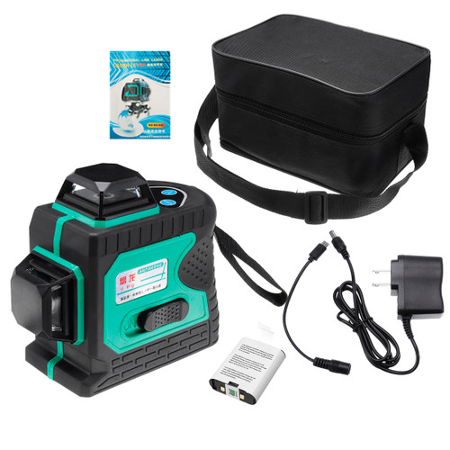 Blue-green Light 12-line Outdoor Strong Laser Level Infrared Light High-precision Automatic