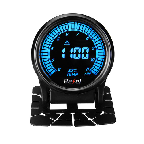 "EVO 2 52mm Exhaust Gas Temp Temperature Gauge Meter Digital LED Display w/Sensor"""