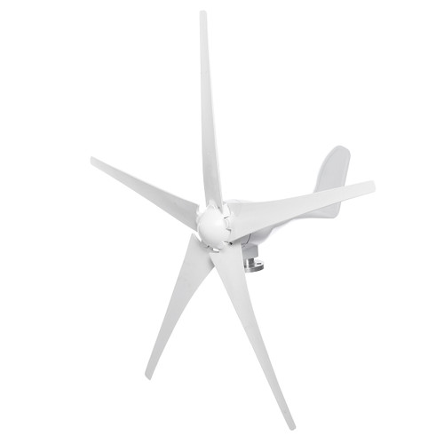DC 12V/24V 1000W Peak Wind Turbine Power Generator 3/5 Blades with Charge Controller