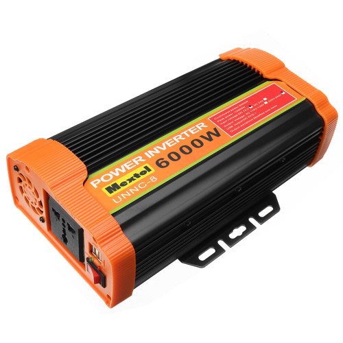 UNNC-8 6000W Solar Power Inverter 12V DC To 220V AC Car Modified Sine Wave Converter