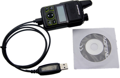 BAOFENG T1 USB Programming Cable Mini Walkie Talkie Write Frequency Line UHF 400-470mhz