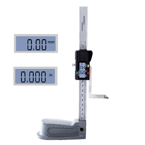Digital Height Gauge 0-150mm 0.01mm Mini Stainless Steel Electronics Marking Gauge Measure Scriber Vernier Caliper