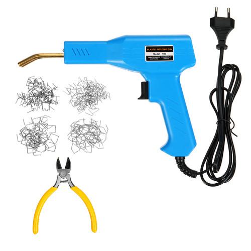 Car Bumper Hot Stapler Plastic Welding Torch Fairing Auto Body Tool Repair Set