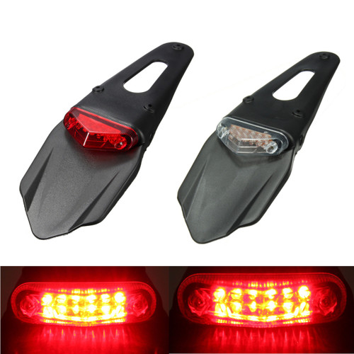 Motorcycle Fenders 12 LED Lamp Stop - Shop at topsystems.gr