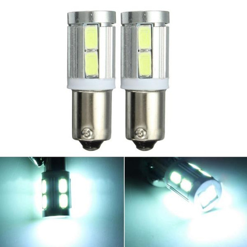 Pair White BAX9S 150  H6W 10SMD Sid - Shop at topsystems.gr