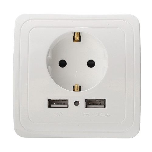 Excellway KI09 5V 2A Dual USB Port  - Shop at topsystems.gr