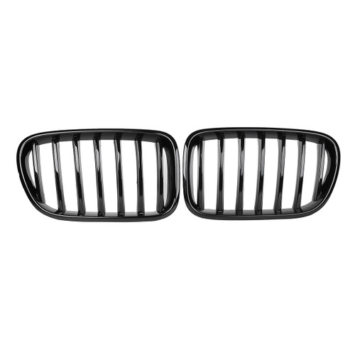 Pair Gloss Black Front Kidney Grill - Shop at topsystems.gr