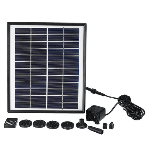 DC35-1218 Solar Power Fountain Wate - Shop at topsystems.gr
