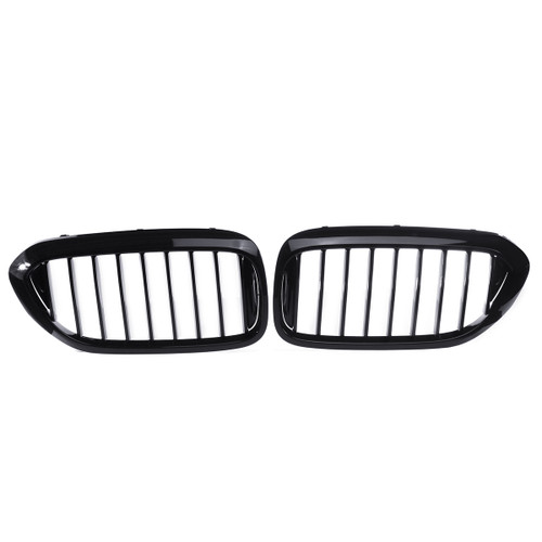 Pair Glossy Black Front Kidney Gril - Shop at topsystems.gr