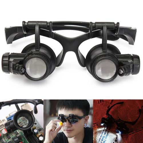 LED Light Magnifier Loupe Glasses 1 - Shop at topsystems.gr