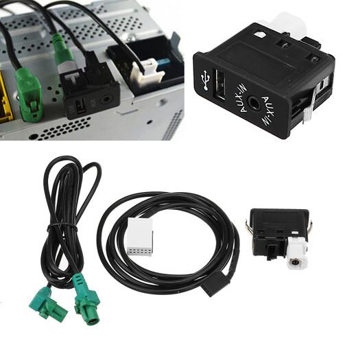 Car AUX USB Switch Socket Audio Cab - Shop at topsystems.gr