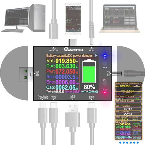 MUSTOOL UD24 5V~32V DC5.5 USB Teste - Shop at topsystems.gr