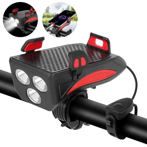 XANES 4-in-1 400LM Bike Light + USB - Shop at topsystems.gr