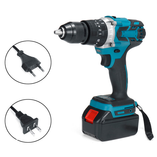 Electric Cordless Drill 2 Speed Bru - Shop at topsystems.gr