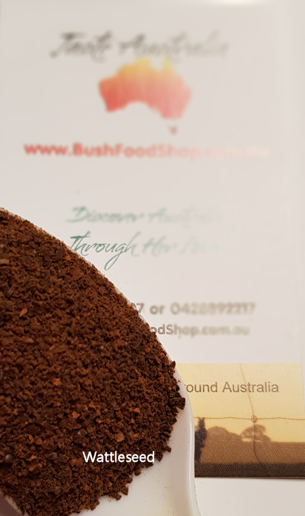 roasted and ground wattle seed