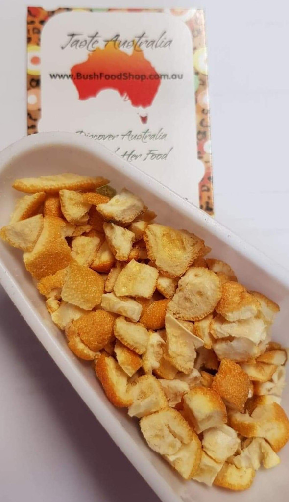 Sunrise lime chips