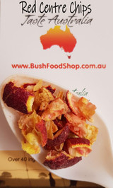 Red Centre Chips, Finger Lime Chips