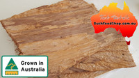 Paperbark sheets for cooking, art and building