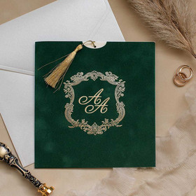 Sample of Royal Style Green & Gold