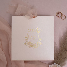 Sample of Rose Crest Pink & Gold