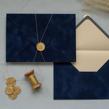 Navy Blue Envelopes