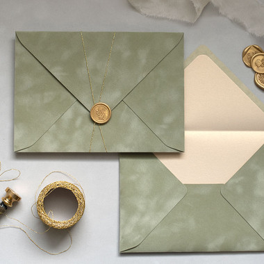 Sage Green Envelopes