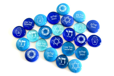Judaica Stones for Hanukkah, Bar Mitzvahs, and more.