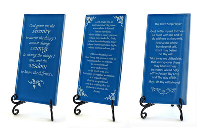 New Colors For Inspirational Glass Plaques