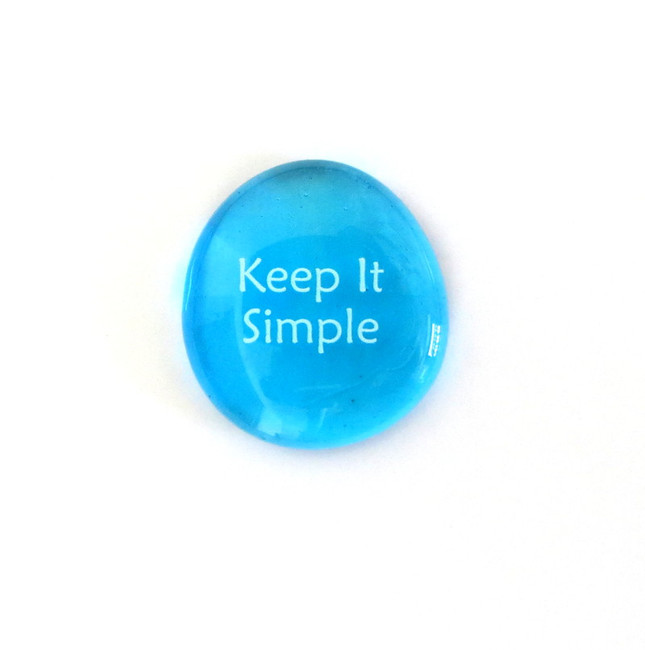 Keep it simple... Glass Stone From Lifeforce Glass