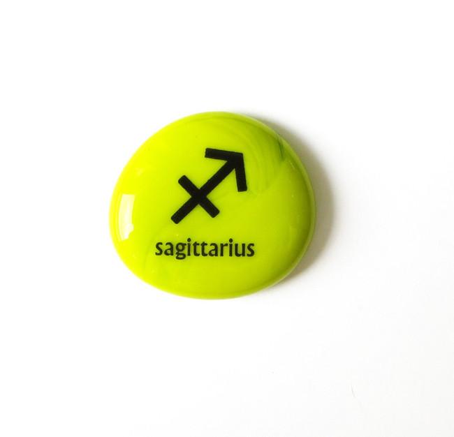 Sagittarius Stone from Lifeforce Glass, Inc.