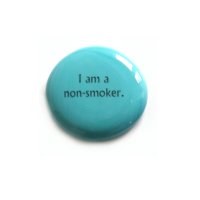 I am a non-smoker... Glass Stone From Lifeforce Glass
