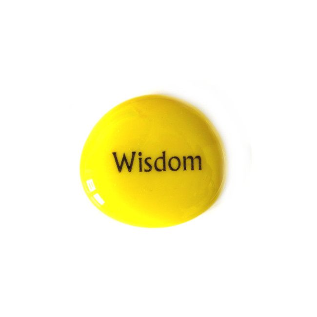 12 Powers- Wisdom... Glass Stone from Lifeforce Glass