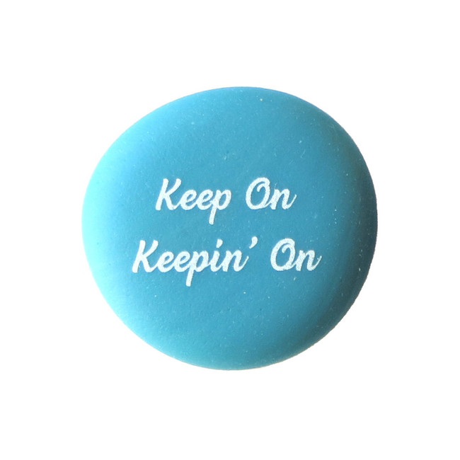 Keep On Keeping' On Inspiration Magnet from Lifeforce Glass, Inc.