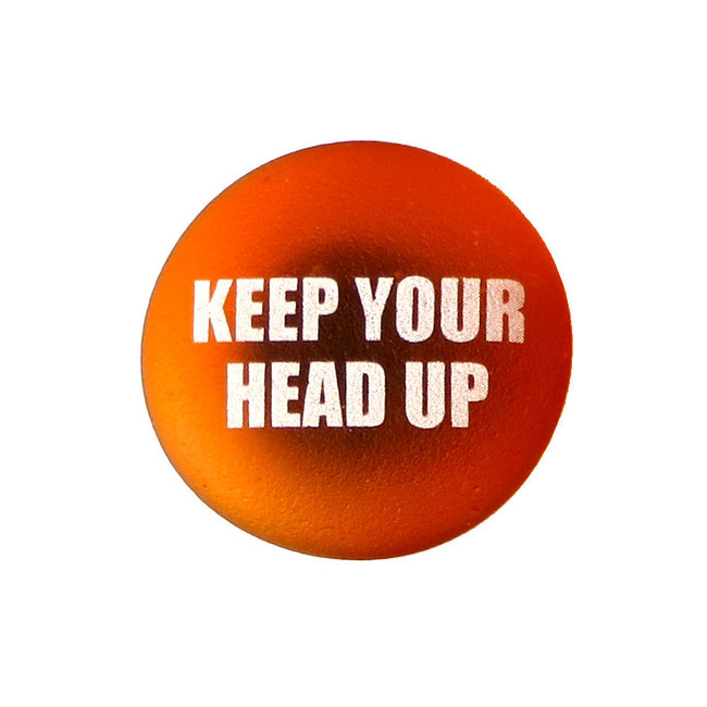 Inspiration Magnet, Keep Your Head Up. From Lifeforce Glass, Inc.