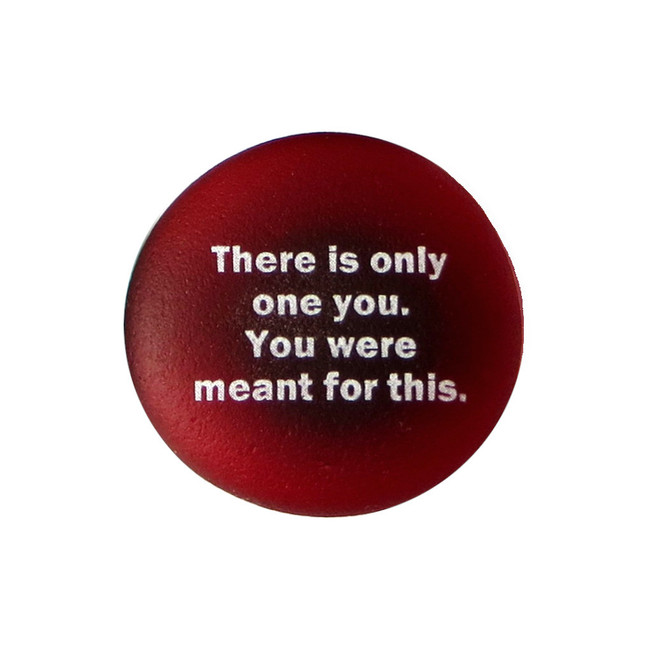 Inspiration Magnet, There is only one you. From Lifeforce Glass, Inc.
