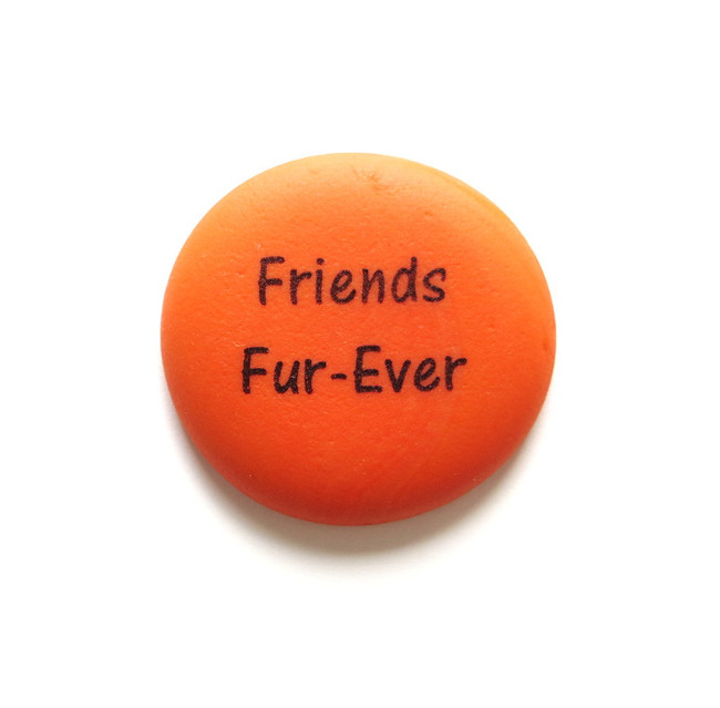 Friends Fur-Ever Pet Stone. From Lifeforce Glass, Inc.
