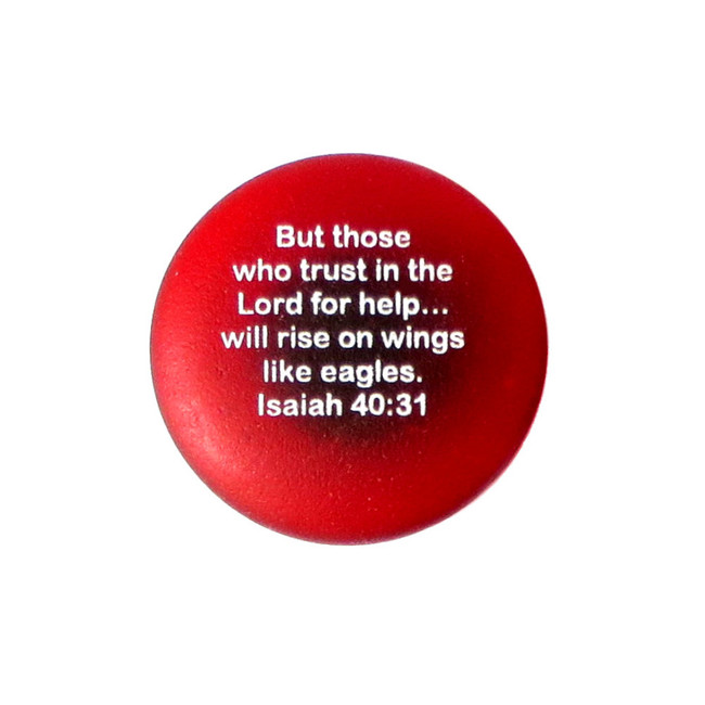 Scripture Magnet from Lifeforce Glass with Isaiah 40:31