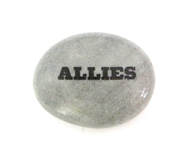 ALLIES... River Rock from Lifeforce Glass