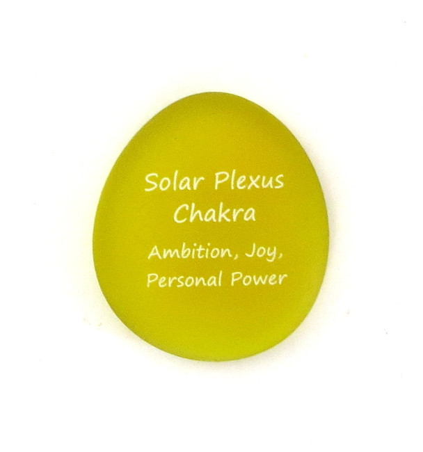 Solar Plexus Chakra... Sea Stone from Lifeforce Glass