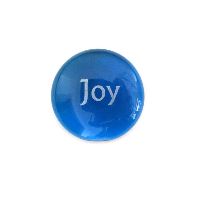 Joy... Glass Stone from Lifeforce Glass