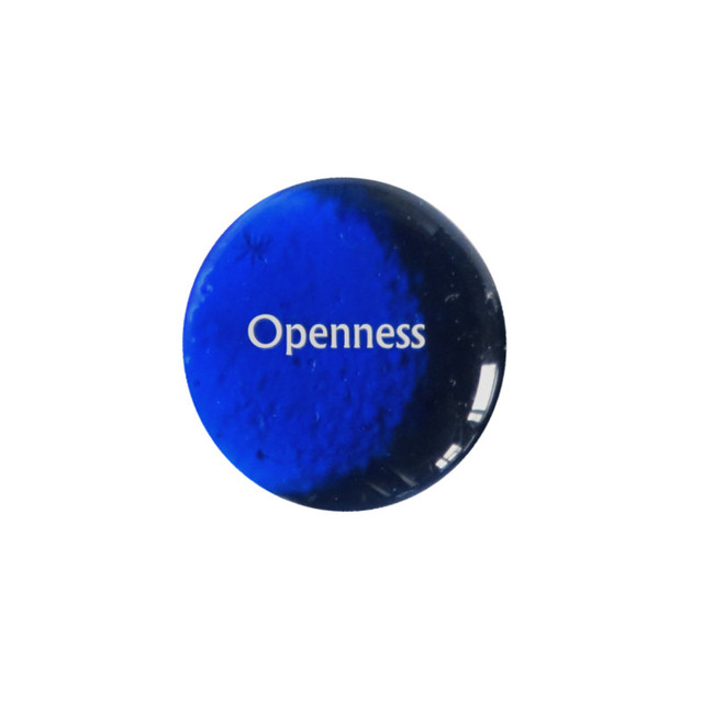 Openness... Glass Stone from Lifeforce Glass