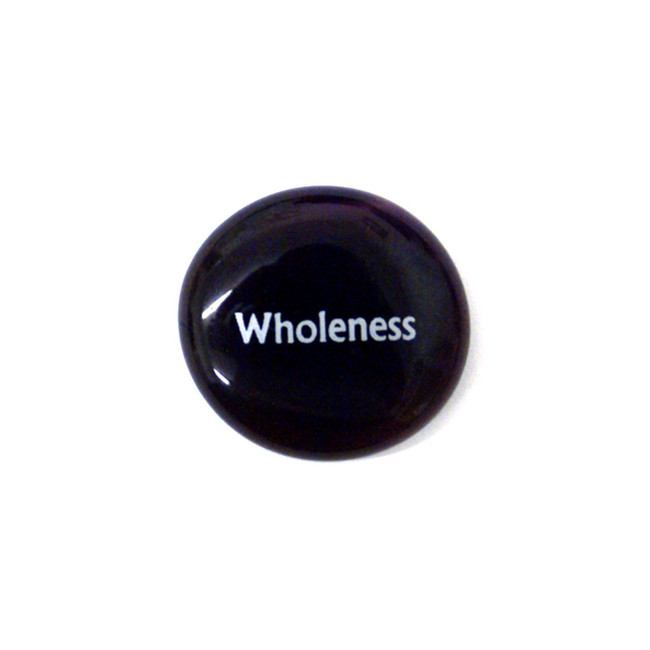 Wholeness... Glass Stone From Lifeforce Glass