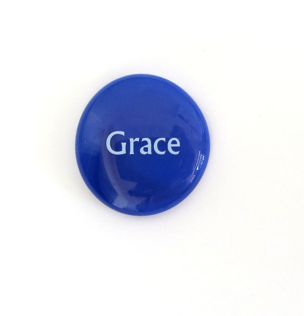 Grace Glass Stone from Lifeforce Glass