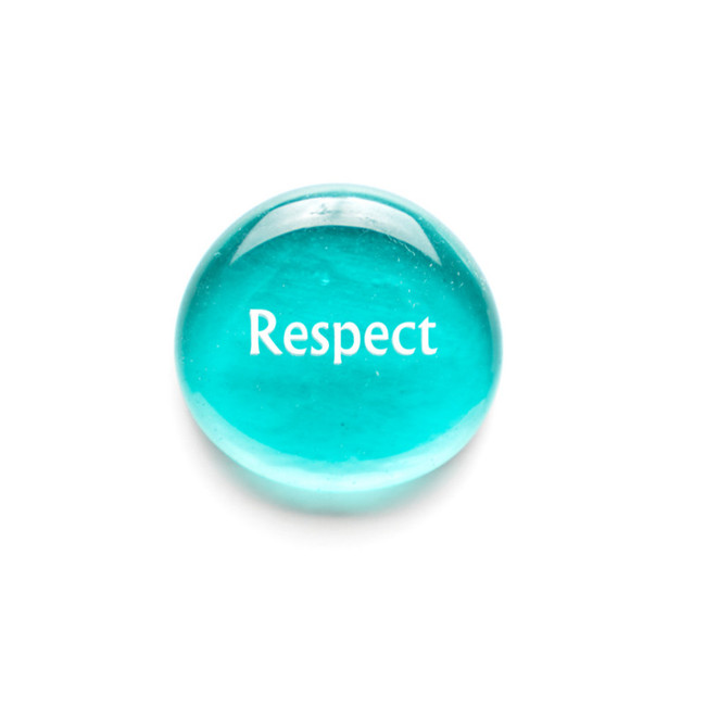 Respect... Glass Stone from Lifeforce Glass