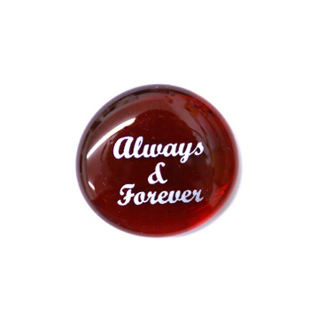 Always & Forever... Glass Stone From Lifeforce Glass