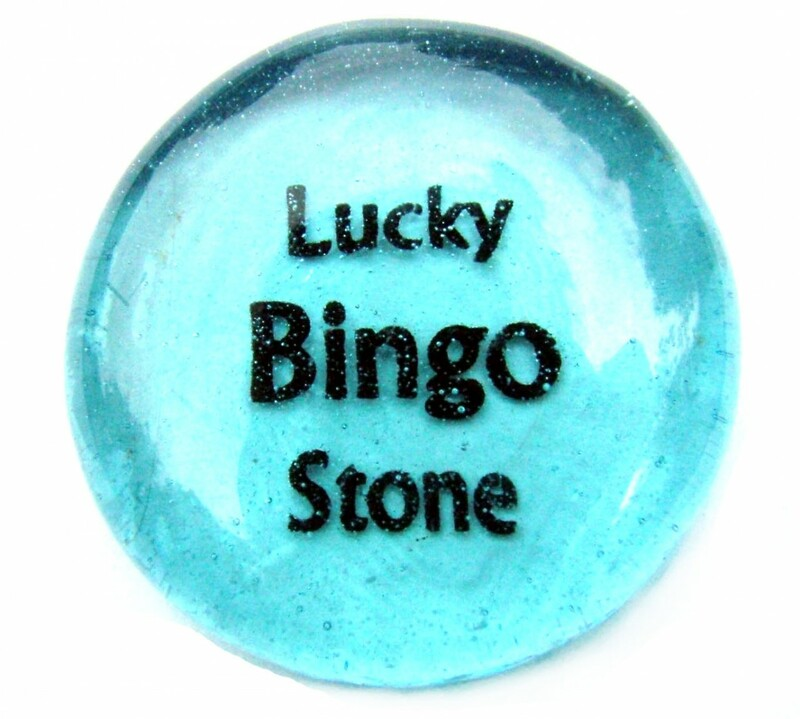 Lucky Bingo Stone...From Lifeforce Glass Inc.
